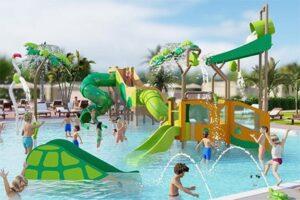 HD Parque Cristobal Gran Canaria - Vakantiepark op Gran Canaria - Zwembad glijbanen kinderen