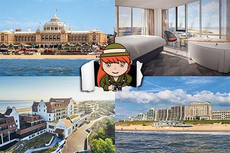 5x tips voor de meest luxe hotels aan zee in Nederland