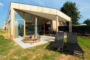 Natuurloft® met hottub - ecolodge landgoed St Geertruid