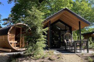 Tiny House Ecolodge met hottub - Berkenrhode