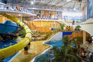 Weissenhausser Strand - Vakantiepark Duitsland met Subtropisch Zwembad