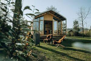 Wikkelhouse Ecolodge bij Klepperstee - Huisje van Karton